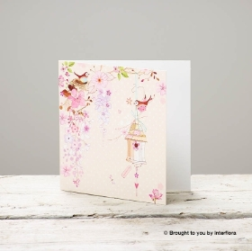 Pretty Flowers Greeting Card