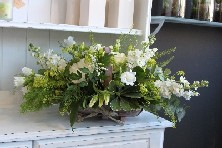 White and Cream Trug