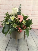 Florist Choice Arrangement in Ceramic Pot