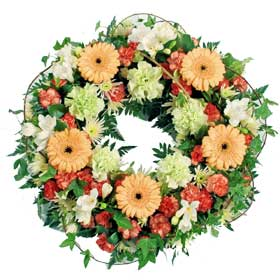 Classic seasonal wreath